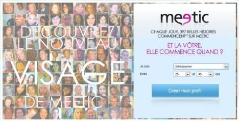 meetic nouvelle home page