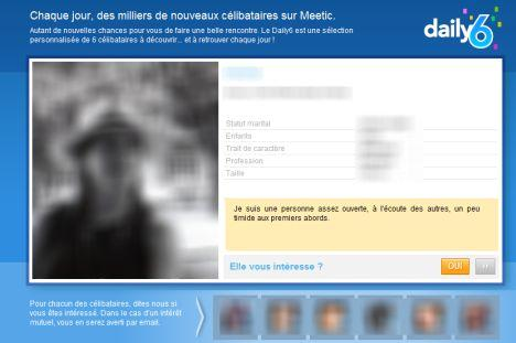 meetic daily6 title=