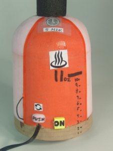 Nettoyeur à vapeur ergonomique (maquette de validation)