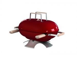 Petit barbecue (rendu 3D)