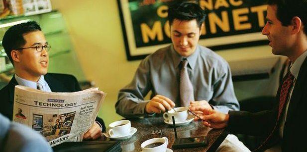 le café et le travail