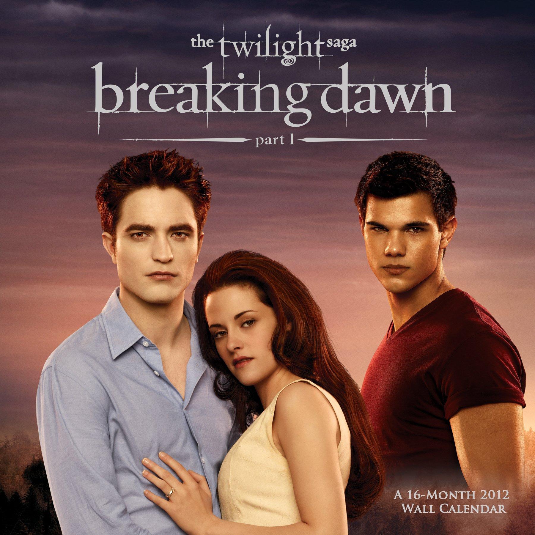 Découvrez la couverture du calendrier 2012 de Breaking Dawn en HQ