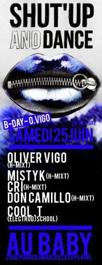 ★Shut Up & Dance/O.Vigo/Mistyk/Cri/Don.Camillo/Cool-T@Baby★