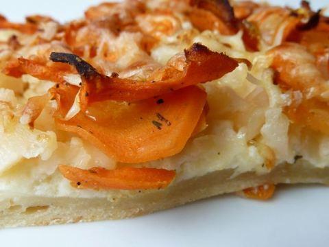 Tarte à la carotte aux épices Jerk pour matinée Rock'n Roll