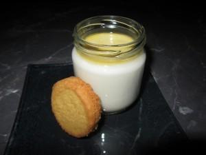 yaourt goût biscuit