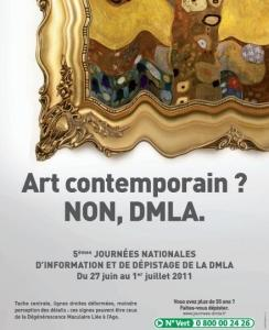 Journées nationales de la DMLA: Et vous alliez vous faire dépister gratuitement?  – Association DMLA