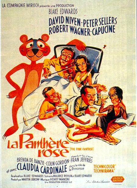 Affiche de 'La Panthère Rose'