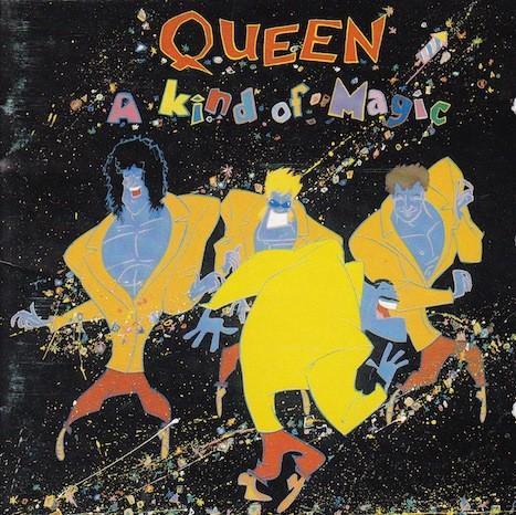 Queen #1-A Kind Of Magic-1986