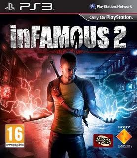 Mon jeu du moment: InFamous 2