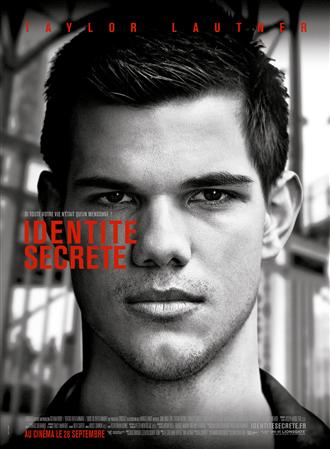 Affiche française du nouveau film de Taylor Lautner