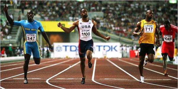 Mondiaux d'athlétisme : Tyson Gay absent