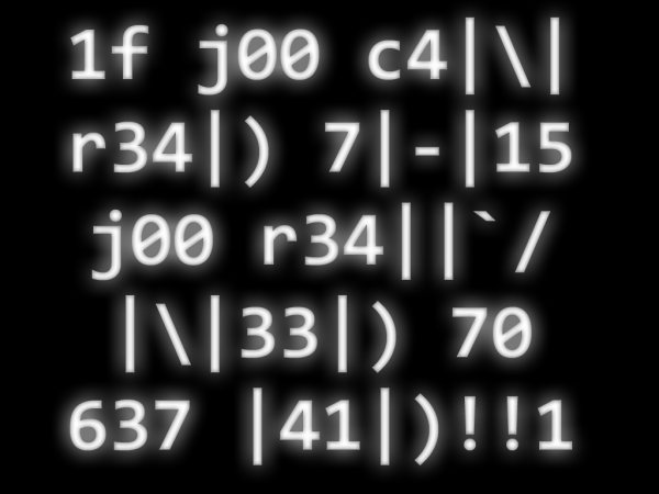1337 by nucleocide 600x450 Chronique du Week End: Jauger son élitisme.