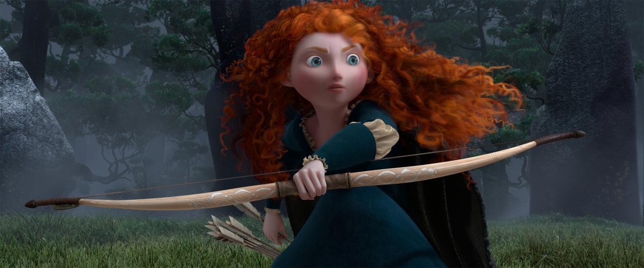 Rebelle : image haute résolution du Pixar 2012