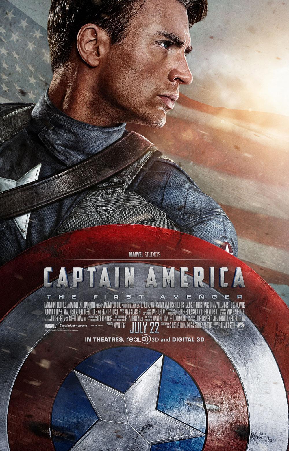 CAPTAIN AMERICA : Un nouveau trailer et une affiche