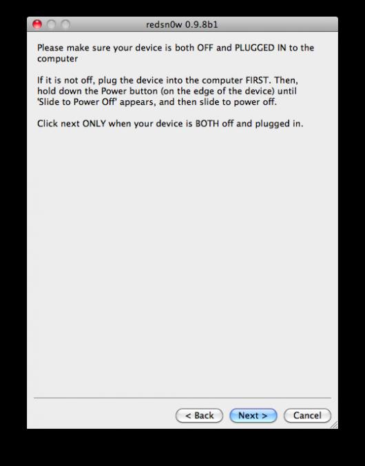 Jailbreak iOS 5 bêta 2 disponible avec Redsn0w 0.9.8b1