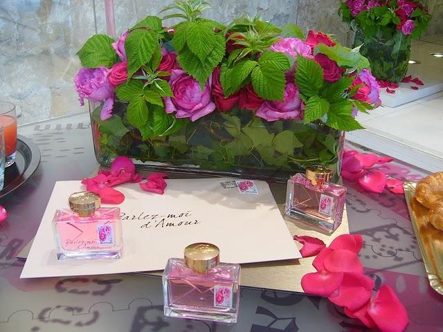 Conférence presse parfum Galliano