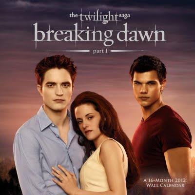 Version HQ de la couverture du calendrier de Breaking Dawn