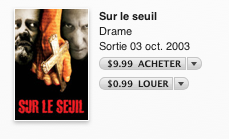Des films québécois en HD à 1,99$ sur l'iTunes Store pour la Saint-Jean