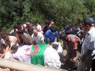 Souamaâ (Tizi Ouzou) : La victime de la bavure militaire inhumée