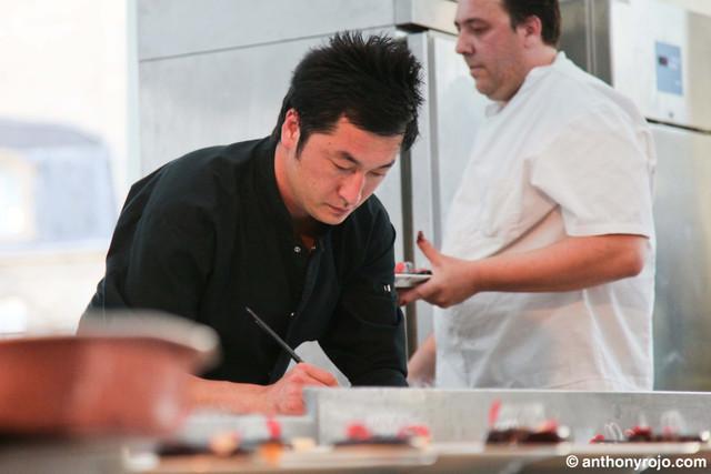 Reportage Photos - Rentrez dans les coulisses des Etoiles d'Epicure avec Pierre Sang de Top Chef aux fourneaux !