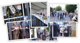 Inauguration du service du bus de ville vendredi 24 juin 2011...