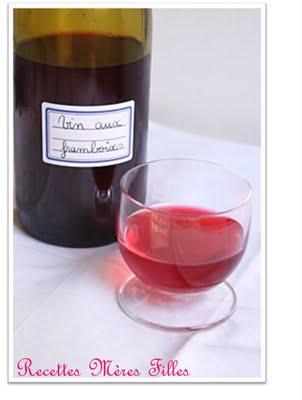 La recette Framboise : Vin de framboises