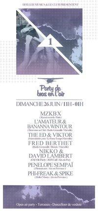Party De Bras En L'Air #1 / Open Air Party