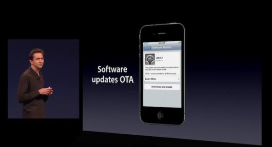 iOS 5 : Mises à jour OTA en Wi-Fi et 3G