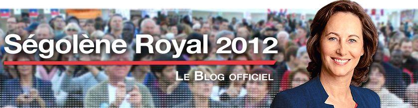 Ségolène Royal annonce sa candidature aux primaires 2012