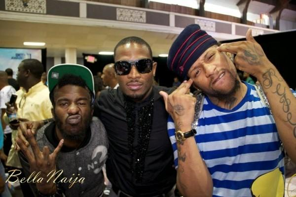 Africa in the Building! 2Face, D'banj, Tiwa Savage & Fally Ipupa at the 2011 BET Awards Pre-Awards Events