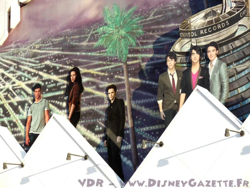Le trio twilight se retrouve au Planet Hollywood de Disneyland Paris