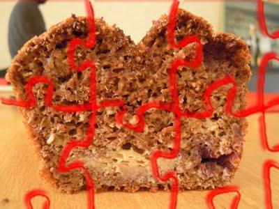 Cake DUKAN aux Petits suisses et aux sons mi-réussi,mi-loupé