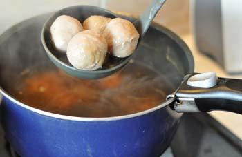 Recette de soupe de nouilles aux boulettes de boeuf