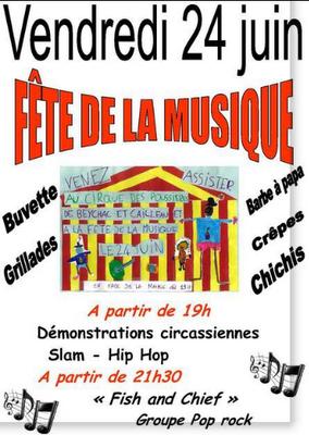 Concert : Fish & Chief à la fête de la musique 2011