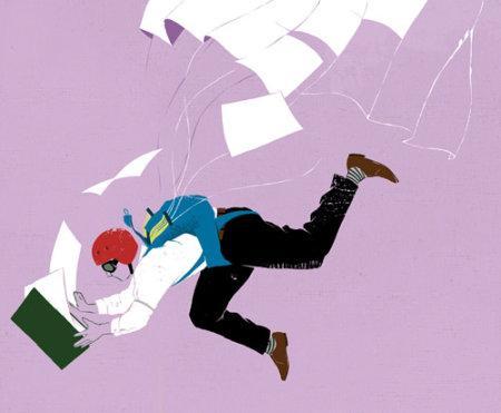 Mark Smith, un illustrateur au style expressif, basé sur une utilisation limitée de la couleur et une grande maitrise du croquis