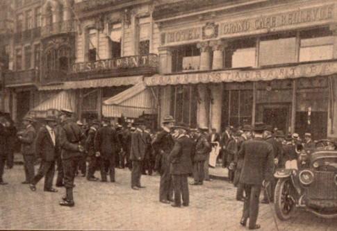 La Grand'Place de Lille en septembre 1919