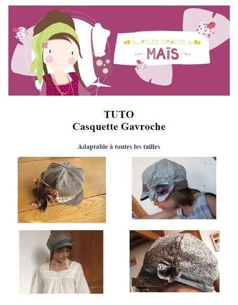 Tuto couture: une casquette gavroche