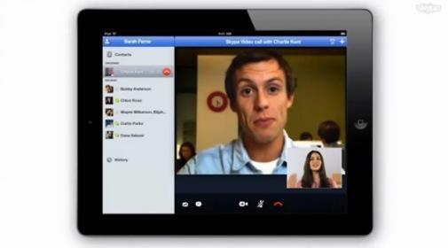 skype ipad La version iPad de Skype disponible dès demain ?