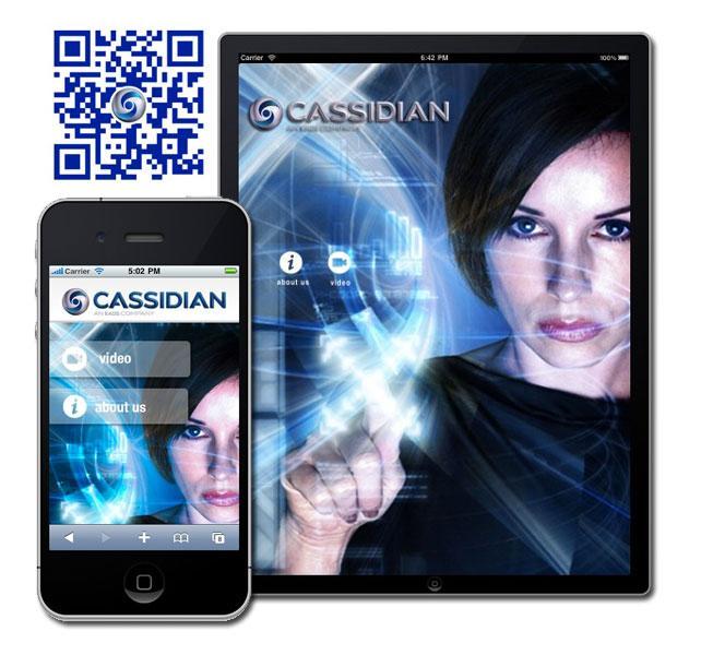 QR Code, WebApp & iPad pour Cassidian, an EADS company