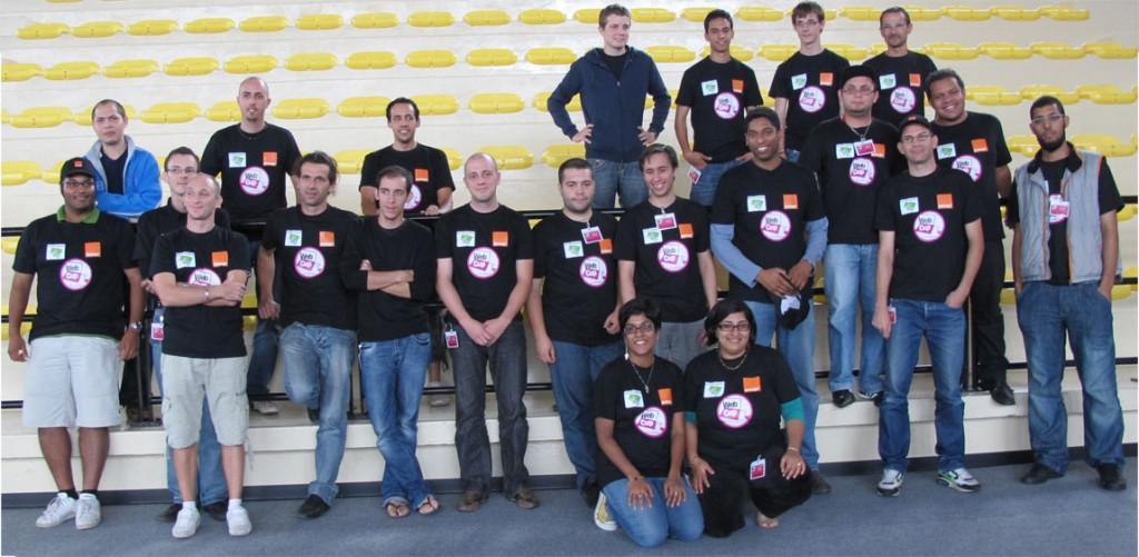 Les participants de la webcup 2011