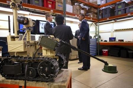 La révolution Robotique du Président Obama