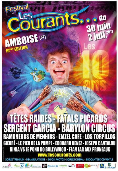 Festival Les Courants Amboise
