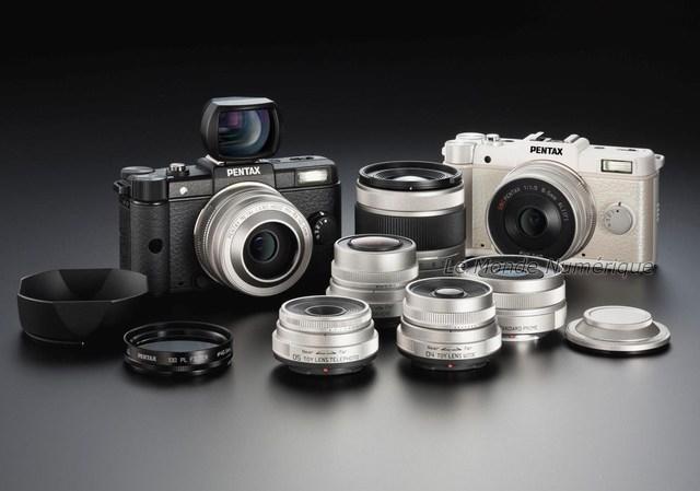 Pentax Q, l'appareil photo numérique avec objectif interchangeable