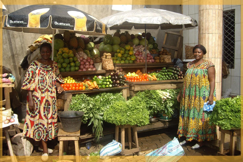 Marchandes au Cameroun