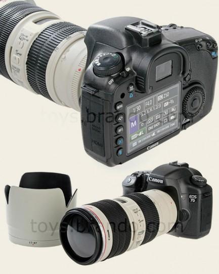 canon dslr piggy bank 2 433x540 Une tirelire en forme de Reflex Canon EOS 7D