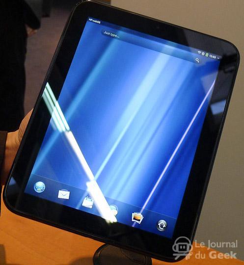 hp touchpad Une HP TouchPad de 7 dés cet été ?