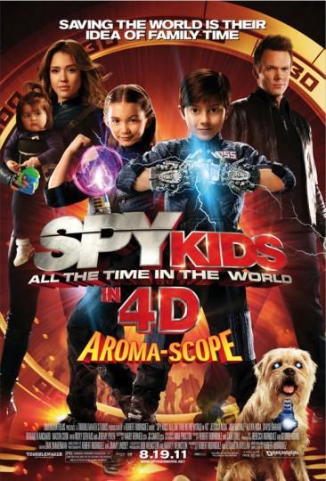 spy kids 4 366x540 Spy Kids 4 en 4D Aroma scope