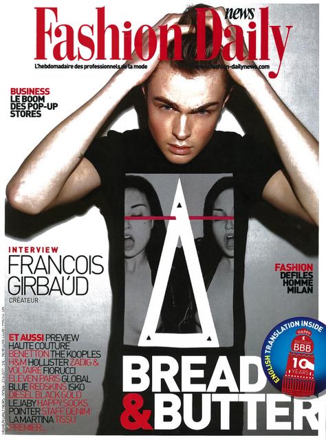 Le Pop Up Store dans Fashion Daily News du 27 juin 2011