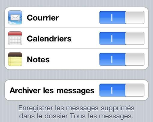 mail archive2 Supprimer les mails de son iPhone