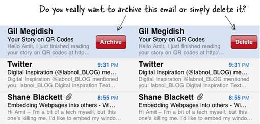 mail archive Supprimer les mails de son iPhone